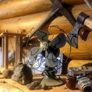 Old artifacts and ore samples from the #ParadiseMine on display …