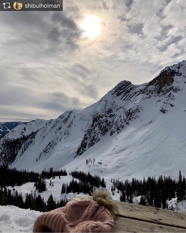 Repost from @shibuiholman Mountain high!  #skimaxholidays #tobycreekadventures 🗻