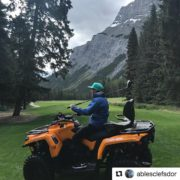 #Repost from @ablesclefsdor ・・・ One of our golfers ripping it …