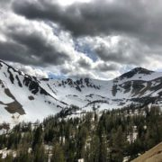 The snow is going up at 8000' in Paradise Basin. …