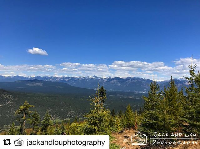 #Repost from @jackandlouphotography ・・・ Looking back on the Rockies from …
