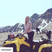 #Repost from @katiebain ・・・ Watch out world, today it's an …