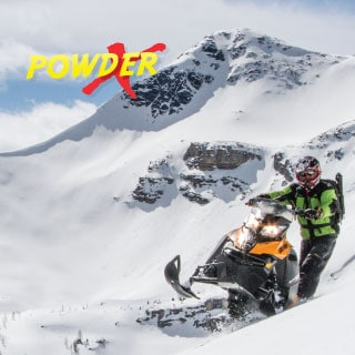 Powder X Advanced Snowmobile Tour