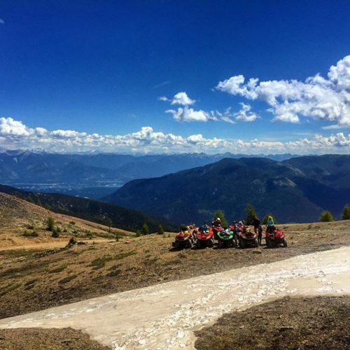 The view from #ParadiseRidge yesterday.  #atvtour #panoramabc #canadianrockies #bcrockies …