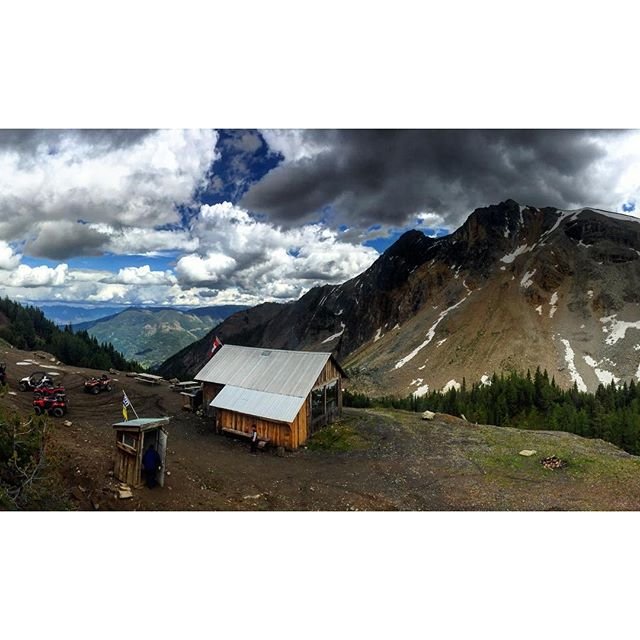 Our #cabin in the #mountains.  #ParadiseRidge #PanoramaBC #Invermere #Kootrocks …