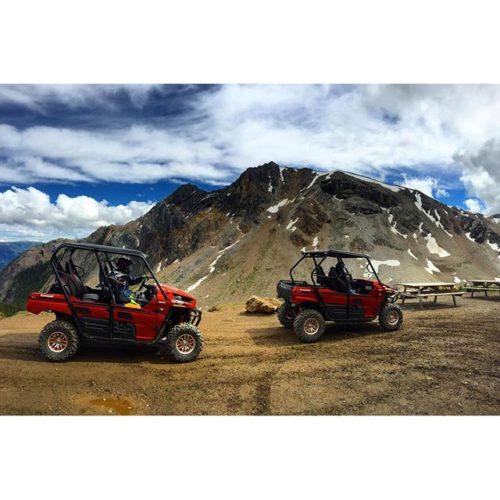 #Mountain high via #SideBySide #ATV tour
