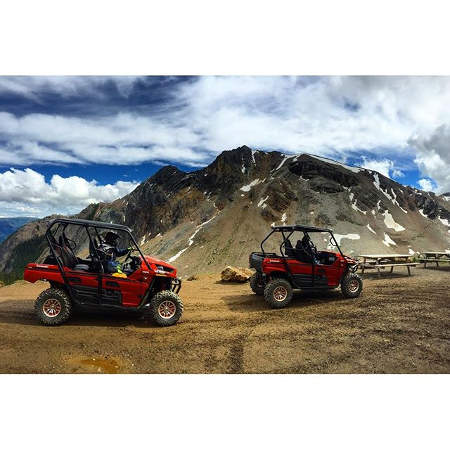 #Mountain high via #SideBySide #ATV tour