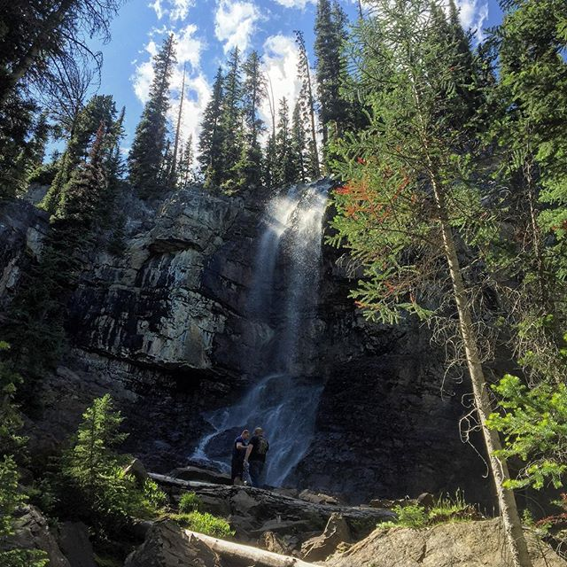 The Smith Falls this afternoon.  #atvtour #panoramabc #bcrockies #canadianrockies …