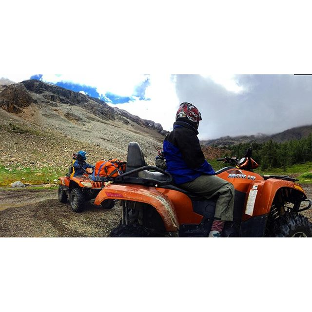 Experience the #mountains #ATVtour #panoramabc #canmore #banff #canadianrockies #invermere