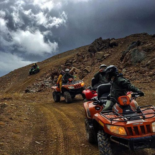 Exploring #ParadiseRidge today on full-day #ATV tour.