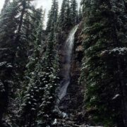 The Smith Falls and fresh snow!