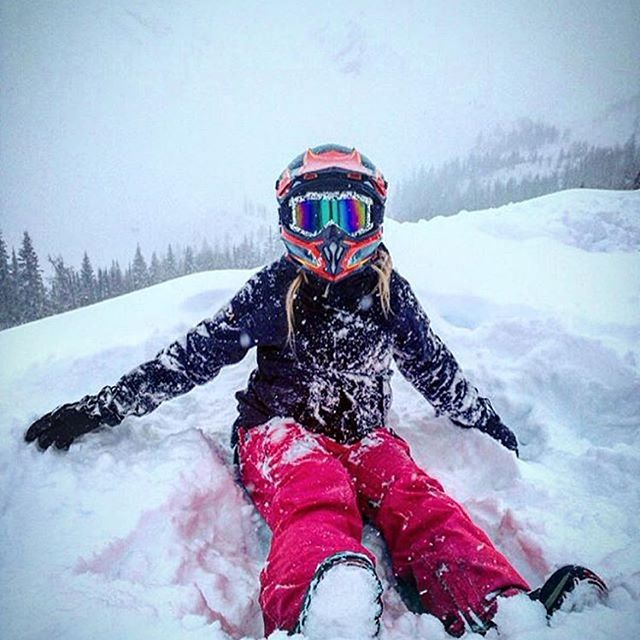 #Repost @hannahmcgregor_ with @repostapp ・・・ snow baby ❄️day off spent …