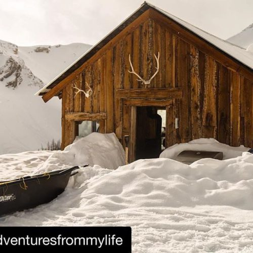 Instagram Repost from @adventuresfrommylife ・・・ Snow sledding up to 8000′ …