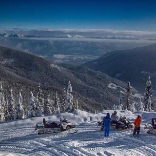 Paradise Basin Full Day Snowmobile Tour
