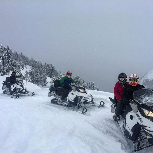 Pow day at Paradise – some of the best riding …