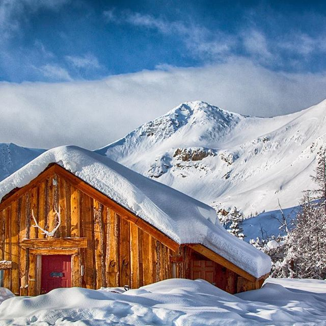 Our cabin at Paradise Basin!  Did you know – …