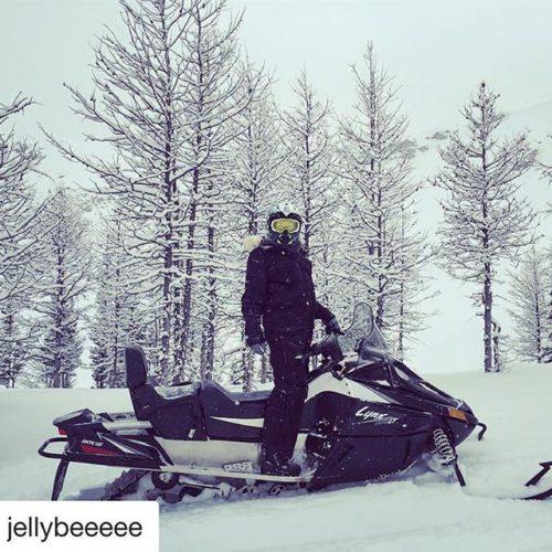Instagram Repost from @jellybeeeee ・・・ #snow #canada #fun #mountain #tobycreekadventures …