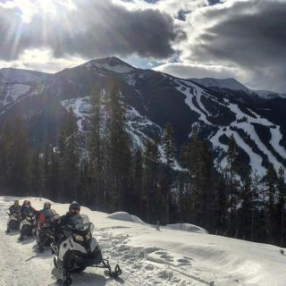 Taste of the Valley 1-Hr Snowmobile Tour