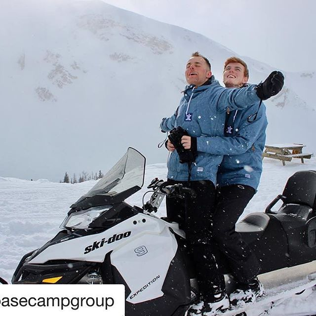 Instagram Repost from @basecampgroup ・・・ Basecamp, a love story. We had such a blast with the crew @tobycreekadv this weekend. #banff #mybanff #lakelouise #juatlakeit #Canada #alberta #nationalpark #snowboard #ski #mountains #snow #winter #scenery #travel #gapyear #instructor t#adventure #lifesgood #bcbanff #explorealberta #snowmobile #explorebc