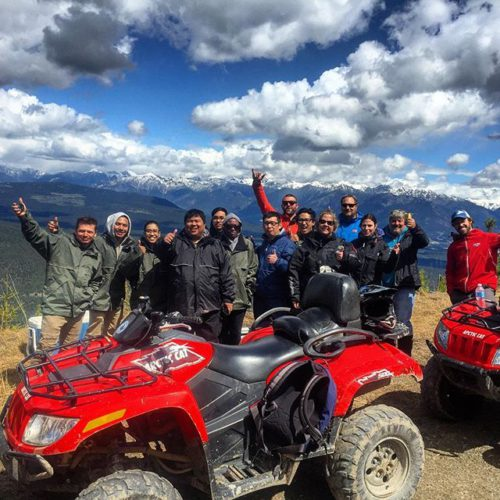 We had an awesome day for the first #ATV tour …