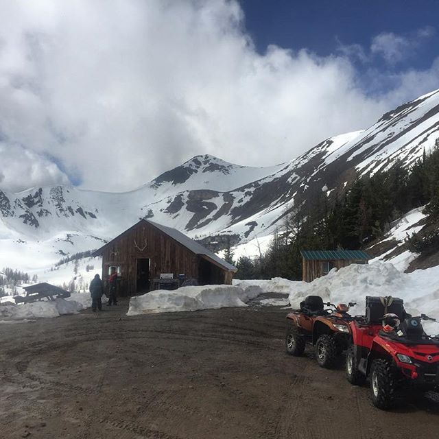 First #ATVtour of the summer to #ParadiseCabin #kootrocks #columbiavalley #purecanada …