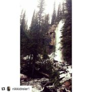 #Repost @nikkidreier1 ・・・ Toby Creek adventures. Waterfall views ???? #tobycreekadventures …