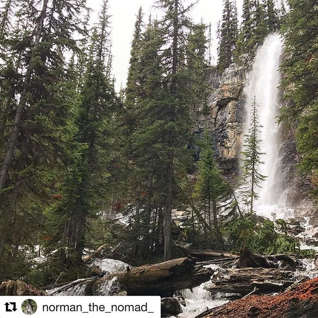 #Repost @norman_the_nomad ・・・ Thousands upon thousands of years of erosion at work #hellobc #purcellmountains #canada150