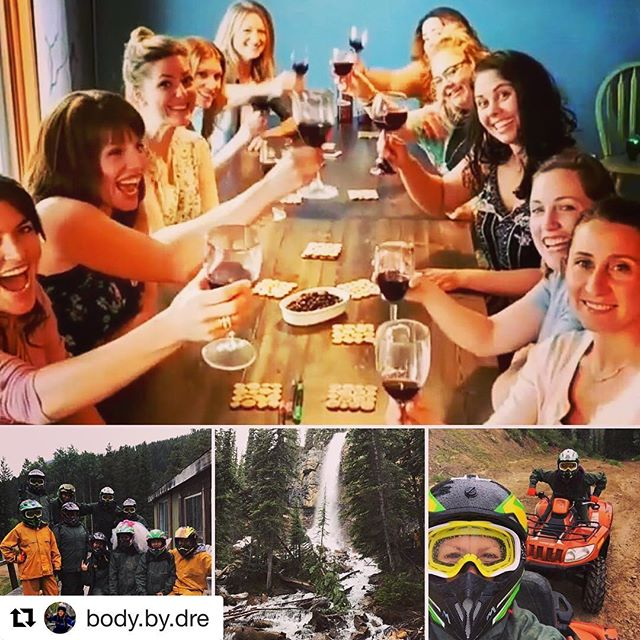 #Repost @body.by.dre ・・・ Wonderful weekend in the Kootenay's celebrating an …