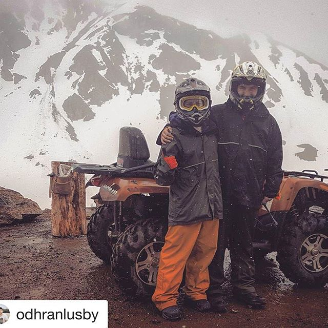 #Repost @odhranlusby ・・・ Incredible experience driving an ATV up an …