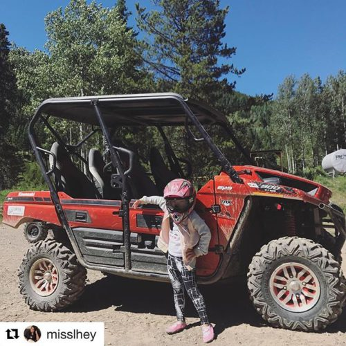 #Repost @misslhey ・・・ check out my ride guys! #tobycreekadventures #adcsummerinbc2017 …