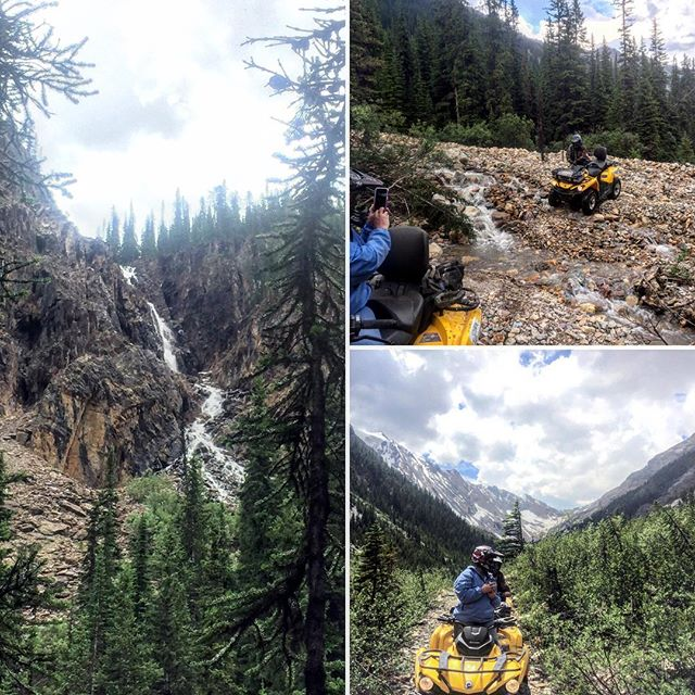 Today's #GlacierSafari #ATV tour was a spectacular wilderness #adventure.