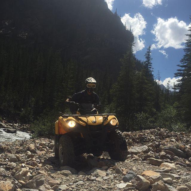 Big country and big adventures!! #GlacierSafari #ATVtour #tobycreekadventures #paradiseridge #canada #canadianrockies #kootrocks #banff #canmore #panoramabc #purecanada