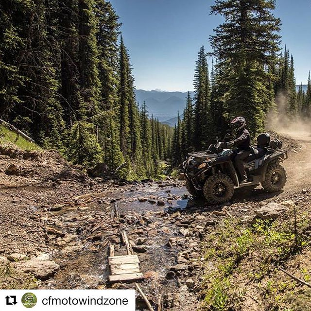 #Repost @cfmotowindzone ・・・ Some amazing shots from the WINDZONE Best Adventure Contest with @tobycreekadv. Thank you to Kevin Cullen for hosting and letting us get our adventure on! #cfmoto #windzone #adventurous #atvadventures #muddin #atv #ontarioquadtrails #rideRCATV #speed #utvlife #bestadventure #4x4 #canada #livebeyond #adventure #bestadventure