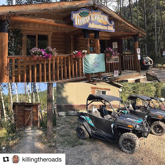 #Repost @killingtheroads ・・・ Took the scenic tour with #tobycreekadventures. See the next post for the views.