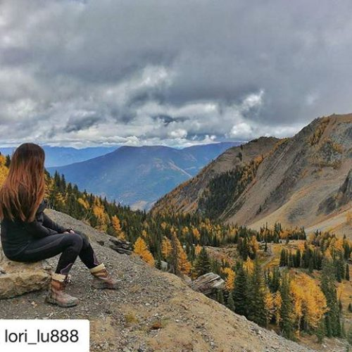 #Repost from @lori_lu888 ・・・ Loving Larch season views from Paradise …