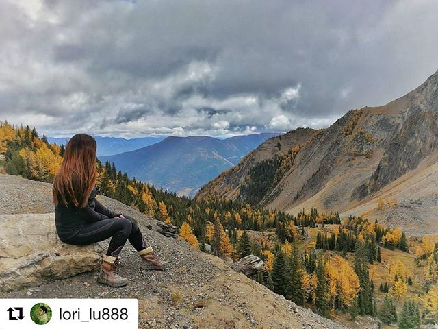 #Repost from @lori_lu888 ・・・ Loving Larch season views from Paradise Ridge with @tobycreekadv . . #larch #panorama #larches #mountains #kootenays #paradise #paradiseridge #travel #explorebc #hellobc #explorecanada #canada #beautifuldestinations #bestvacations #natgeotravel #vacation #lifeofadventure #optoutside #bc #invermere #travelbc #womenwhoexplore