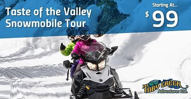 Our snowmobile tours start at only $99. The Taste of …
