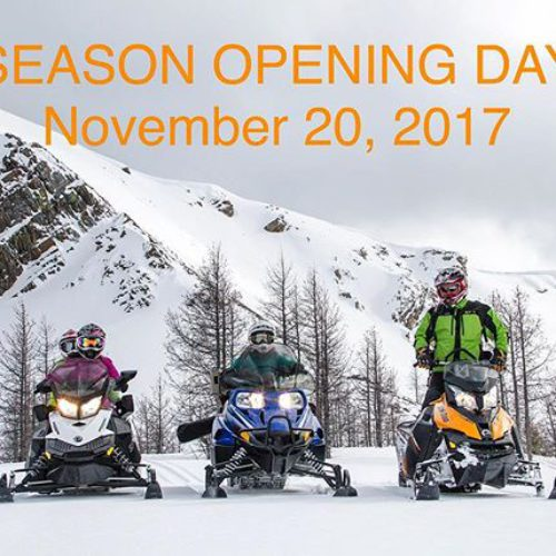 OPENING DAY – NOV 20, 2017  #Snowvember has been …