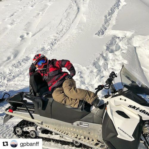 REPOST: @gpbanff ・・・ Paint me like one of your french …