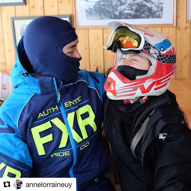 Repost @annelorraineuy ・・・ Today we did something very exciting - #snowmobiling ! @chad_gots @andrewong888 @ianong #ChadGotsAnne #makingmemories #experiences #exploreBC #travelAlberta #CanadianWinter #????????