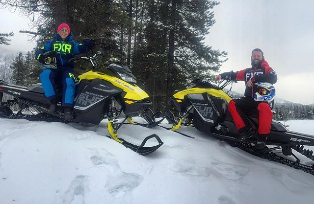 New for the 2017/18 winter season – TWO #Skidoo Summit …