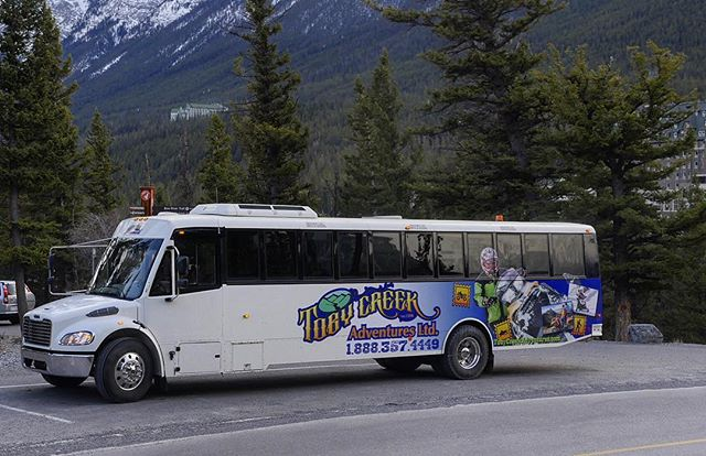Do you know we provide FREE pickup at most #Canmore and #Banff hotels for our full and PM half-day #snowmobiletours? .  We also offer custom tour arrangements for groups with express tour options to suit your groups's requirements and schedule. . We have a modern comfortable 40-seat bus and a 15 passenger van available to serve our Banff and Canmore guests with daily departures all season.  #canadianrockies #banffnationalpark #banfflife #banffcanada #canada150  #canada #tobycreekadventures