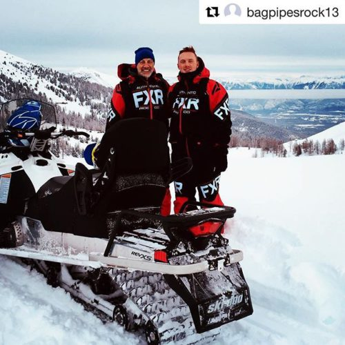 #Repost @bagpipesrock13 ・・・ Great day snowmobiling in BC, so fast, …