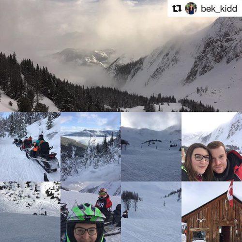#Repost @bek_kidd ・・・ What an amazing experience! ????????????#snowmobile #canada #britishcolumbia …