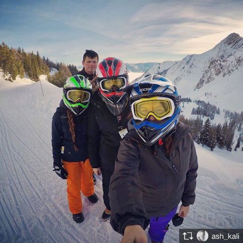 Repost from @ash_kali Beauty of a morning sledding into the …