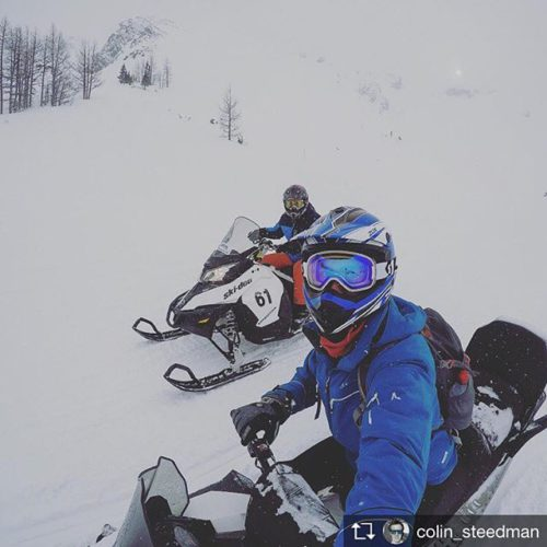 Repost from @colin_steedman Sledding and Shredding!!! . .. … #sledding …