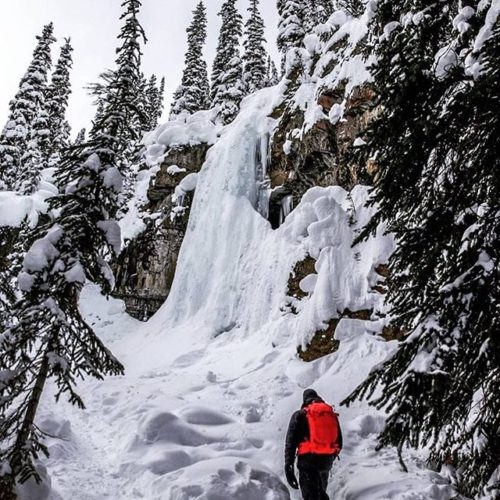 Repost from @feasta87 There's just something about a frozen waterfall …