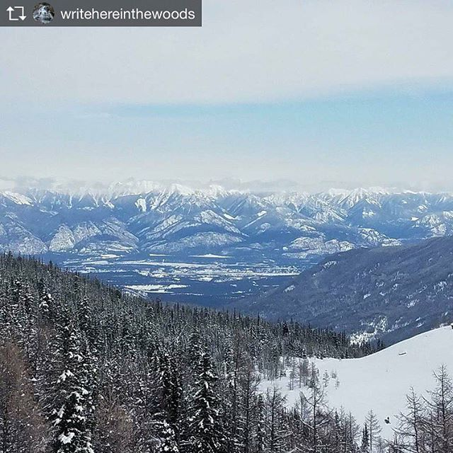 Repost from @writehereinthewoods Wrapping up February break right with some …