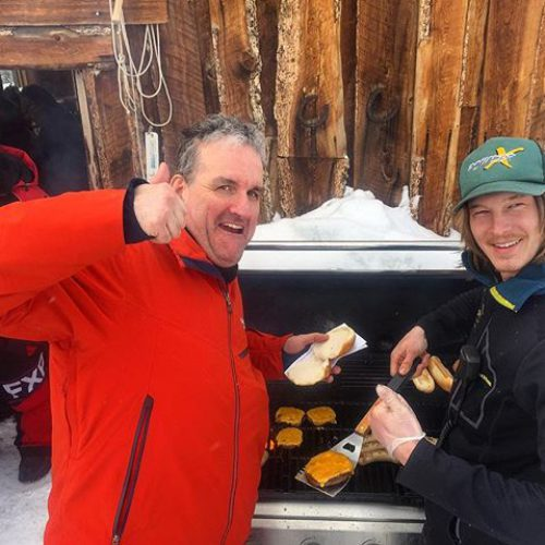 #Lunchtime at #Paradise #tobycreekadventures #snowmobiletours