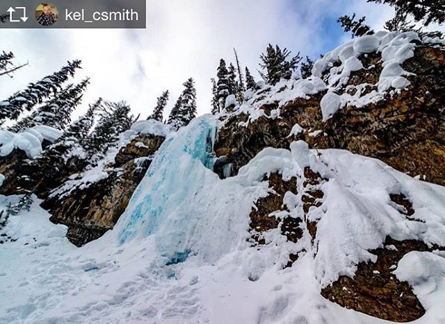 Repost from @kel_csmith  Frozen Smith falls • A nice …